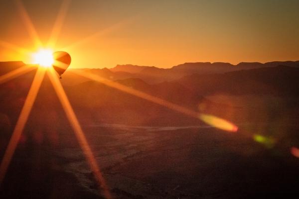 Barbara Burry: Above the earth sunrise