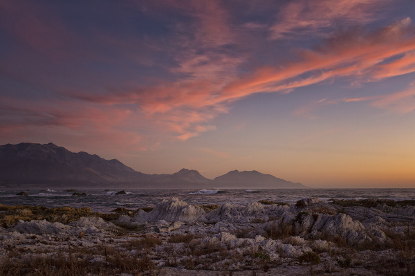Diana Stewart: Sunrise over the Kaikoura Range