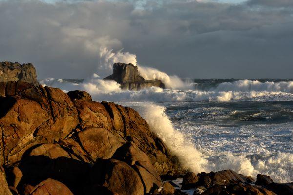 Sue Blair: Wave action at Cosy Nook