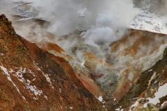 Mutnovskaya steam vent