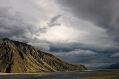 Storm over Burnett Mountains