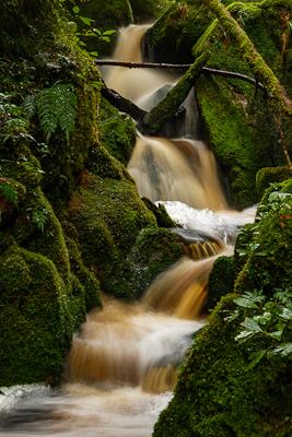 Oparara waterfall