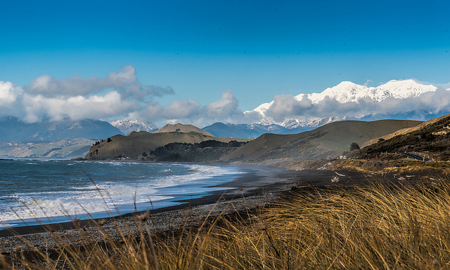 Barry Dench: Kaikoura Coast