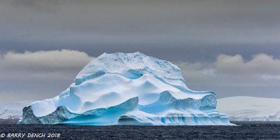 Iceberg - shapes seen at Antarctic Peninsula
