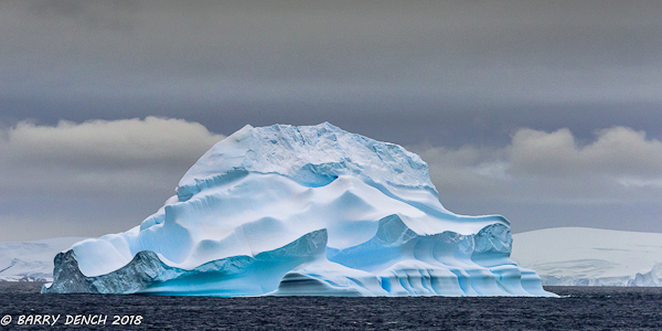 Iceberg - shapes seen at Antarctic Peninsula