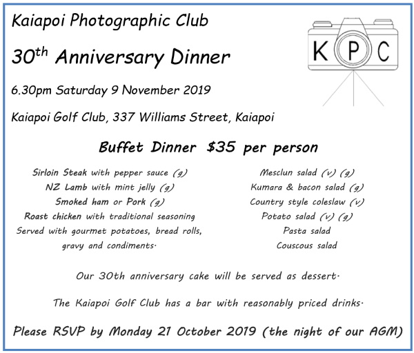 Kaiapoi Photographic Club