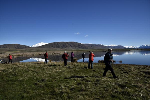 Sue Blair: Maori Lakes