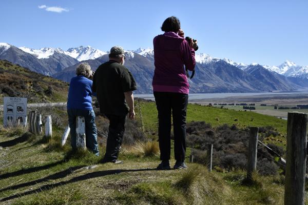 Sue Blair: Mt Potts lookout